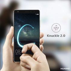 Dank Knuckle 2.0 könnt ihr ganz einfach mit dem Fingerknöchel einen Buchstaben auf das Display des neuen HUAWEI Mate S malen, um Funktionen wie die Kamera schneller zu öffnen. Praktisch, oder? #HUAWEI #HuaweiMateS