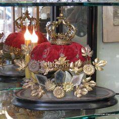 crown on display