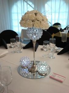 Centrepiece from Brisbane wedding decorations and hire from Ezy Events... see more at http://ezyevents.brisbane.weddingcircle.com.au