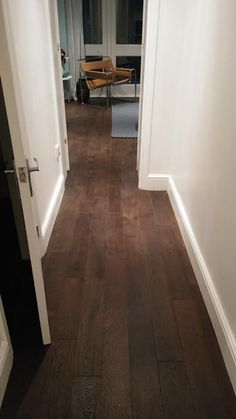 Wood Oak Flooring to Hallway
