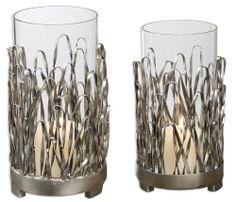 Uttermost Corbis Hand Forged Metal Candleholders in Silver (Set of 2) Uttermost,http://www.amazon.com/dp/B00DAP0J4Y/ref=cm_sw_r_pi_dp_3wastb1FGAK1643X