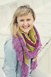 You'll get a kick out of this engaging and colorful shawl, ironically named for the feeling of listlessness and tedium that it's sure to banish. Be daring with your color choices or remain comfortably reserved – either way your excitement will grow along with the shawl as you create textured stripes and gently undulating waves.