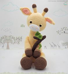 Click the image to view more about Amigurumi Crochet Patterns Giraffe! Crochet Giraffe Pattern, Crochet Patterns Amigurumi, Crochet Dolls, Crochet Baby, Free Crochet, Amigurumi Minta, Häkelanleitung Baby, Crochet Animals, Stuffed Toys Patterns