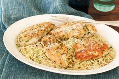 Lemon Grass Chicken with Herbed Orzo Recipe - Kraft Recipes