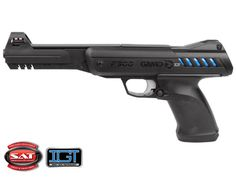 Gamo P-900 IGT air pistol IGT gas piston (IGT=Inert Gas Technology) Breakbarrel Single-shot 30 lbs. cocking effort Fixed fiber optic front sight Windage-adjustable rear sight Rifled steel barrel Ergonomic design Textured, rubberized ambidextrous grip Manual safety 2-stage non-adjustable Smooth Action Trigger (SAT) Here are the benefits of the IGT over a metal mainspring: Smoother cocking Smoother shooting No spring torque No spring fatigue, even if you leave it cocked for hours Functions…