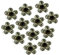 Crystal Hair Twister Set - Smoke PR Hair Accessories. $12.50. Each twister measures 3/8 inch in diameter. Set of 12 sparkling crystal Twisters. Simple to use: just place a lock of your hair into the pin - and twist!. Save 50% Off!