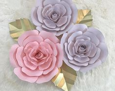 Paper Flower Backdrop CUSTOMIZE YOUR ORDER