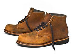 Huckberry   Broken Homme   Davis Boot (Light Brown)