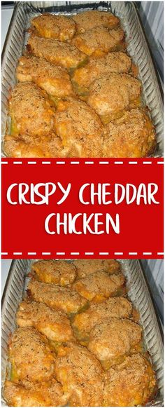 Crispy Cheddar Chicken #crispy #cheddar #chicken #chickenrecipes