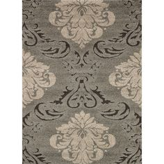 @Overstock.com - Jullian Grey Shag Rug (7'7 x 10'6) - Ideal for transitional spaces, and featuring plush shag styling for superior softness underfoot, this beautiful neutral area rug is machine loomed for lasting durability. In grey and taupe tones, it looks lovely in nearly any setting.  http://www.overstock.com/Home-Garden/Jullian-Grey-Shag-Rug-77-x-106/5106460/product.html?CID=214117 $227.89
