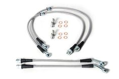 USP Motorsports Brake Line Kit, Volkswagen Mk7 Golf R and Audi S3, Stainless Steel   #Audi #car #race #sportscars #wheels #TagsForLikes #sportscar #racing #rims #engine #SequentialPerformance #road #VW #speed #tires  Worldwide Shipping Available! -Qualified Free shipping Available!   Stainless steel brake lines replace your factory rubber lines and provide more consistent braking. Your car's brake system operates at over 1,000psi under hard braking conditions; the factory rubber lines cannot…