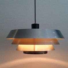 RAAK HOLLAND 60s pendant light Extremely rare