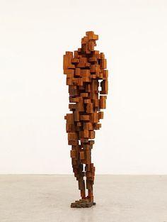 Antony Gormley - British sculptor// I like it.