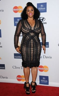 Jill Scott Weight Loss Thick Fashion Iness Fancy Black Dress Evan Ross Lauren
