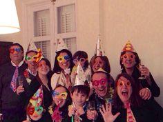 Friends on the Trabuco La Tos Del Trabuco Whatsapp group, New Year celebrations.