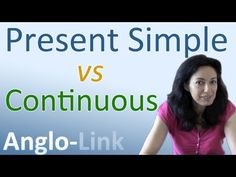 Present Simple vs Present Continuous - Learn English Tenses (Lesson 1) - YouTube