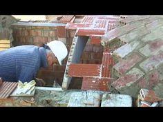 Cómo construir un techo con bóveda catalana 2ª par  video nº108