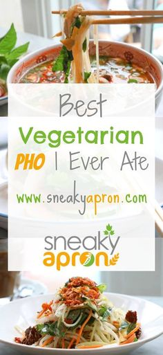 Who said pork pho is the only kind there is? Try this amazing vegetarian pho instead for an unforgettably yummy experience!