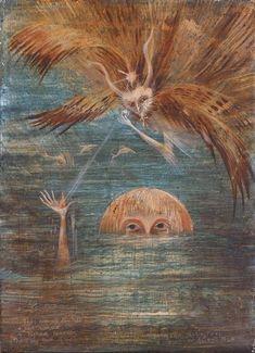 Leonora Carrington, Figure in water
