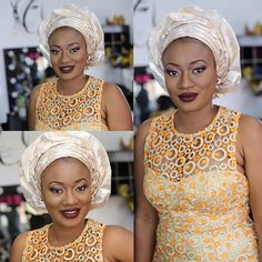 """We all know what Aso-ebi means. Just a reminder, Aso-ebi is translated to """"family cloth"""". It is referred to…"""