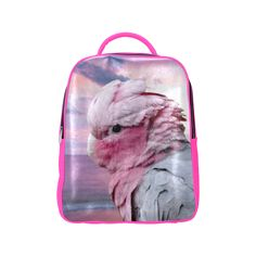 Galah Cockatoo Popular Backpack. FREE Shipping. FREE Returns. #lbackpacks #parrots