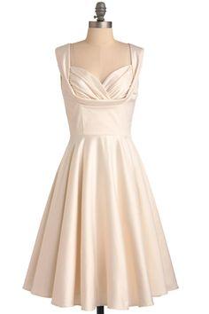 Court room wedding dress