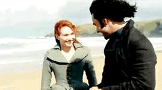 Ross and Demelza in Poldark S4 sneak preview (x)