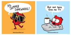 Optimism. The Awkward Yeti comics are awesome! This is basically me for the next 5 months