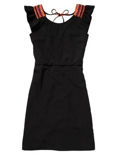 Woven butterfly dress with shoulder detail - Dresses & All-in-ones - Official Scotch & Soda Online Fashion & Apparel Shops