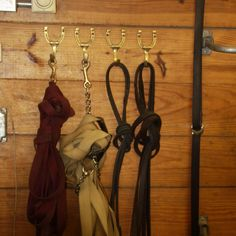 Small Brass Horseshoe Hook