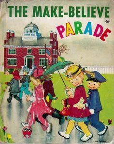vintage kids Eloise Wilkin book The Make by OnceUponABookshop, $4.50