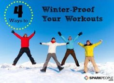 Stick-With-It Winter Workout Tips. Get out from hibernation with these ideas to keep your #winter #workout #motivation high! | via @SparkPeople