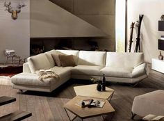 Each Natuzzi Italia Sofa is handcrafted in Italy to bring comfort and design in your house. Upholstered in leather or fabric, find the best sofa for your home Sofa Design, Furniture Design, Interior Design, Design Design, Divani Design, White Sectional, Sofa Italia, Hickory Furniture, Condo Living