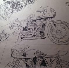 RocketGarage Cafe Racer: Moto Inspired Design