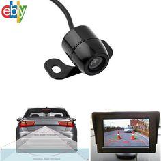 170º CMOS Car Rear View Reverse Backup Parking Camera HD Night Vision Waterproof #UnbrandedGeneric