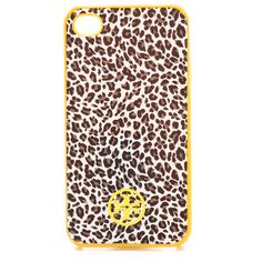 Tory Burch Dunraven Soft iPhone 4 Case ($48) ❤ liked on Polyvore