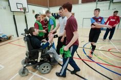 19 year old Nathan Mattick, who has cerbral palsy, becomes Britain's first wheelchair football referee. #joyofsport  http://www.mirror.co.uk/news/uk-news/nathan-overcomes-cerebral-palsy-become-5032456