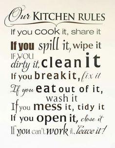 Kitchen Quote.
