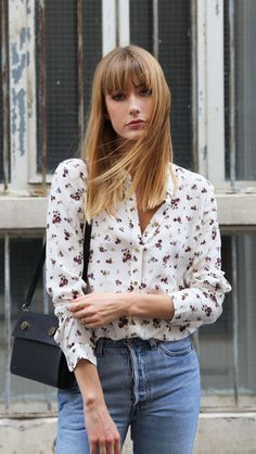 Into Your Closet: FLOWERS & DENIM