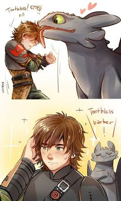 Drawn by Kadeart0 ... How to train your dragon, toothless, hiccup, night fury, dragon, viking