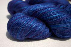 Fingering  Elysium Swiss Silk & Finest Merino yarn  by LUNAYARNS