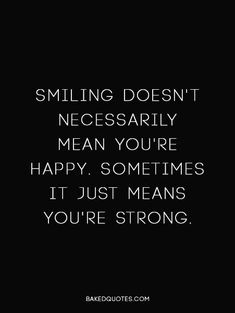 Smile/string quote
