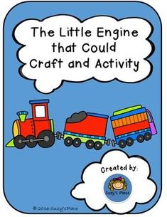 "Teaching growth mindset is easy when paired with this timeless children's book activity!  Not only will your students engage  their fine motor skills, they will brainstorm and set  goals for the year.  An added extension activity encourages reflection on tasks the students can do.Here is what is included: * engine coloring page ( boy/girl)* 2 Kindergarten ""I think I can"" sheets where students draw their goal."