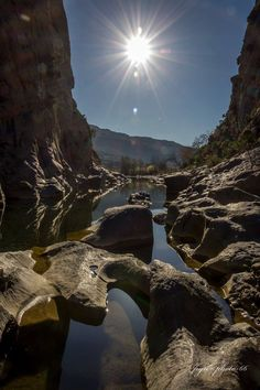 Gorges du Gouleyrous 66 - photo Julien Respaut
