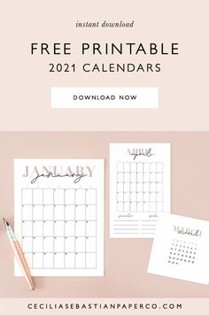 *To access the calendars follow the link the blog post to the freebies page and click the pdf icons to download all of the calendars. Freebie Calendar 2021! Now you can organize, plan and streamline your life! Super easy to print at home and available in 3 sizes to fit all of your needs! @cecilia.sebastianpaperco | ceciliasebastianpaperco.com | Freebie Calendar 2021 | Freebie Calendar | Free Printable Calendar | Feminine Minimalist Calendar | Neutral Blush Calendar Diy Wedding Stationery, Diy Wedding Favors, Printable Wedding Invitations, Diy Wedding Decorations, Photo Thank You Cards, Printable Thank You Cards, Free Printable Calendar, Diy Place Cards, Diy Holiday Cards