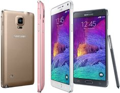 Samsung Galaxy Note 4 even comes in pink