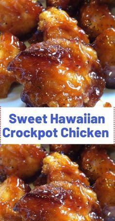 crockpot hawaiian chicken recipe sweet Sweet Hawaiian Crockpot Chicken RecipeYou can find Crockpot recipes - Oppo system Crock Pot Recipes, Crockpot Dishes, Crock Pot Cooking, Slow Cooker Recipes, Cooking Recipes, Casserole Recipes Crockpot, Crock Pot Appetizers, Crock Pot Dinners, Hawaiian Appetizers
