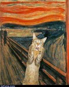 The Scream - Cat Style