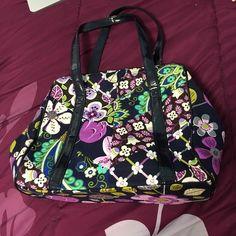Vera Bradley frame satchel Vera Bradley patchwork frame satchel in floral  nightingale. Never been used 2f8270628fe77