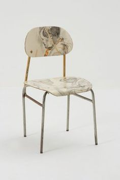 a totally DIY achievable idea for an old rusting chair